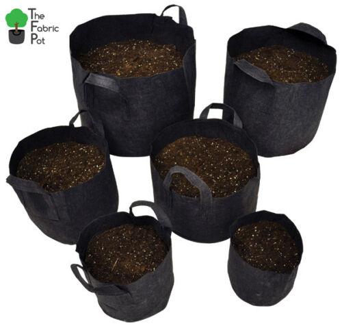 X5pcs Hydroponique tissu Racine Pots Pour Smart Plant Grow pot sacs 20 L litres UK