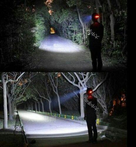 30000 LM 3x DEL XM-L T6 18650 projecteur Phare Tête Torche Lampe de Poche