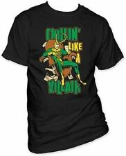 Authentic Loki Chillin Like A Villain Thor Avengers Marvel Comics Shirt L