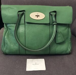 ca0cddfc40f7 Image is loading Mulberry-Bayswater-Bag-Green