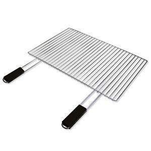 verchromter grillrost grill rost griller 67 x 40 cm ebay. Black Bedroom Furniture Sets. Home Design Ideas