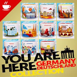 + Starbucks City Mugs + Germany + NEW + Yah you are here Mug Germany