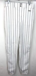 Vélo Athlétique 4114 Baseball Softball Pantalon W Blanc / Black à Rayures Taille