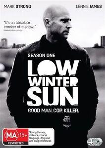 Low-Winter-Sun-DVD-2013-4-Disc-Set-Mark-Strong-Lennie-James-CRIME-DRAMA