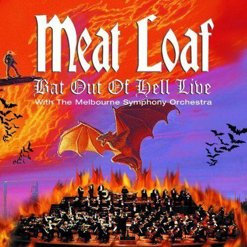 Meat Loaf [CD] Bat out of hell live (2004, & Melbourne SO)