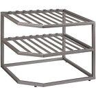 Seville Classics 2-tier Corner Shelf Counter and Cabinet Organizer B002qchsza