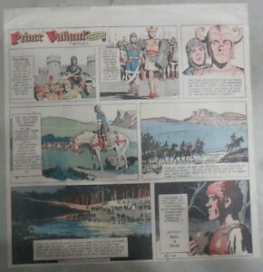 Prince-Valiant-Sunday-by-Hal-Foster-from-3-12-1972-2-3-Full-Page-Size