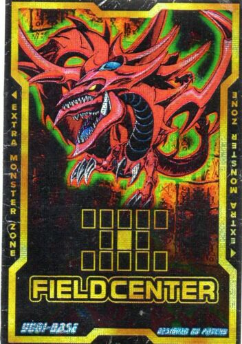 Slifer der Himmelsdrache Götterkarte Selfmade Field Center Card Yu-Gi-Oh