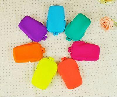new coin wallet silicone bag Mobile Storage purse women handbag Rubber Silicone