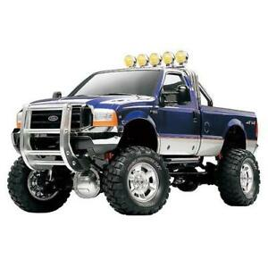 New-Tamiya-1-10-High-Lift-Ford-F350-4WD-3spd-Kit-58372-Express-Mail-From-Japan