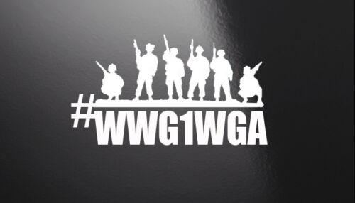 """#WWG1WGA  5/"""" x 9/""""  2 Pack Vinyl Window Decal"""