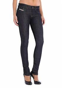 $168 Diesel Damen Grupee Super Slim Skinny Jeans 0rz74 Größe w32-l30