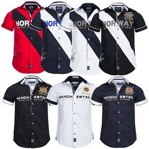 Geographical-Norway-Royal-kurzarm-Hemd-Shirt-T-Shirt-S-XXXL
