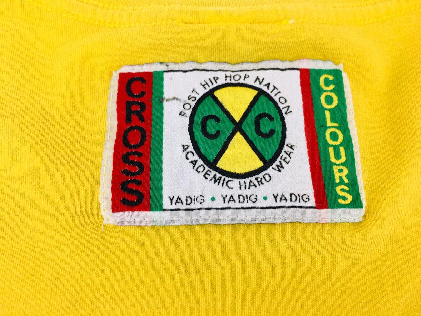 Vintage Cross Colours shirt T-Boz 1992 Hip Hop sh… - image 3