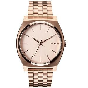 Nixon-A045897-Time-Teller-All-Rose-Gold-Men-039-s-Analog-Watch