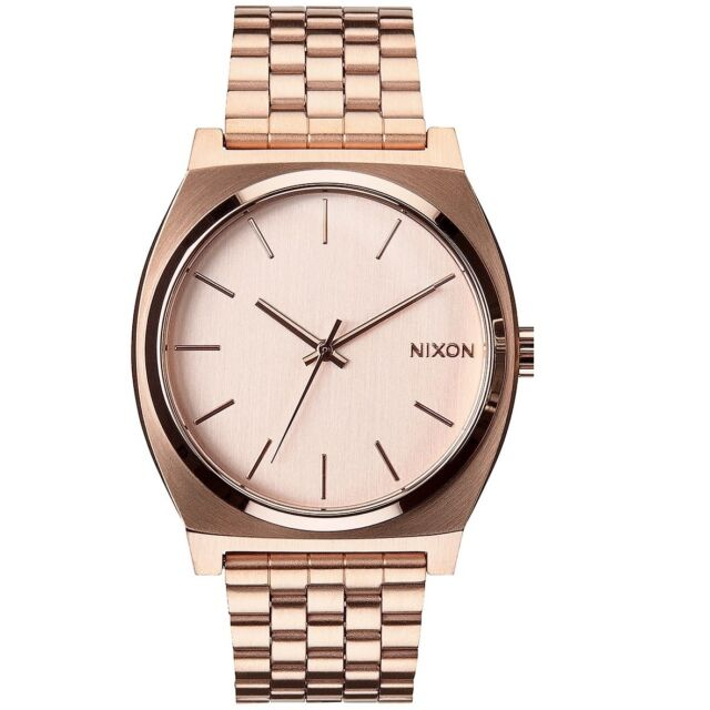 Nixon A045897 Time Teller All Rose Gold Men's Analog Watch