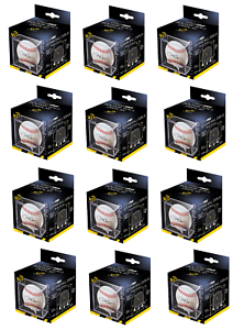 Ultra Pro Square Baseball Display with UV Protection and Built In Cradle 12 ct