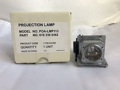 SANYO PLC-WX410E Projector Replacement Lamp and Housing with Ushio Bulb Inside