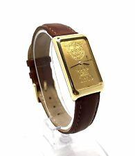 CORUM 18K GOLD CASE 10 GRAM 999.9 24K GOLD BAR INGOT MANUAL WIND WATCH