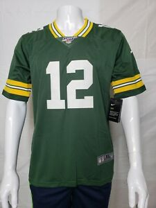 Details about Aaron Rodgers #12 Green Bay Packers jersey. Youth size. Nike Dry. Stitched. New