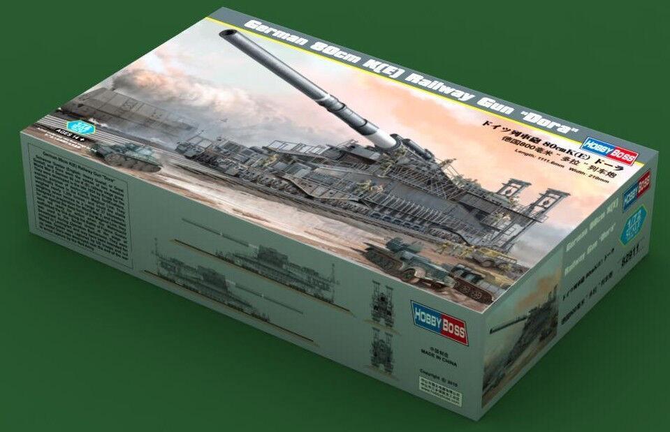 Hobbyboss 82911 1 72 German 80cm Railway Gun  Dora