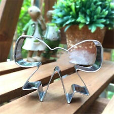 Stainless Steel Bow Pastry Cake Cookie Cutter Fondant Decor Mold Tool☆