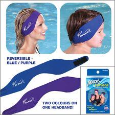 MACKS EAR BAND Swimming Headband and Swimming Putty Ear Plugs - FREE UK P&P!