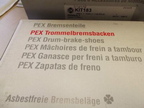 Hinterachse Bremsenkit komplett Opel Corsa C Trommelbremskit