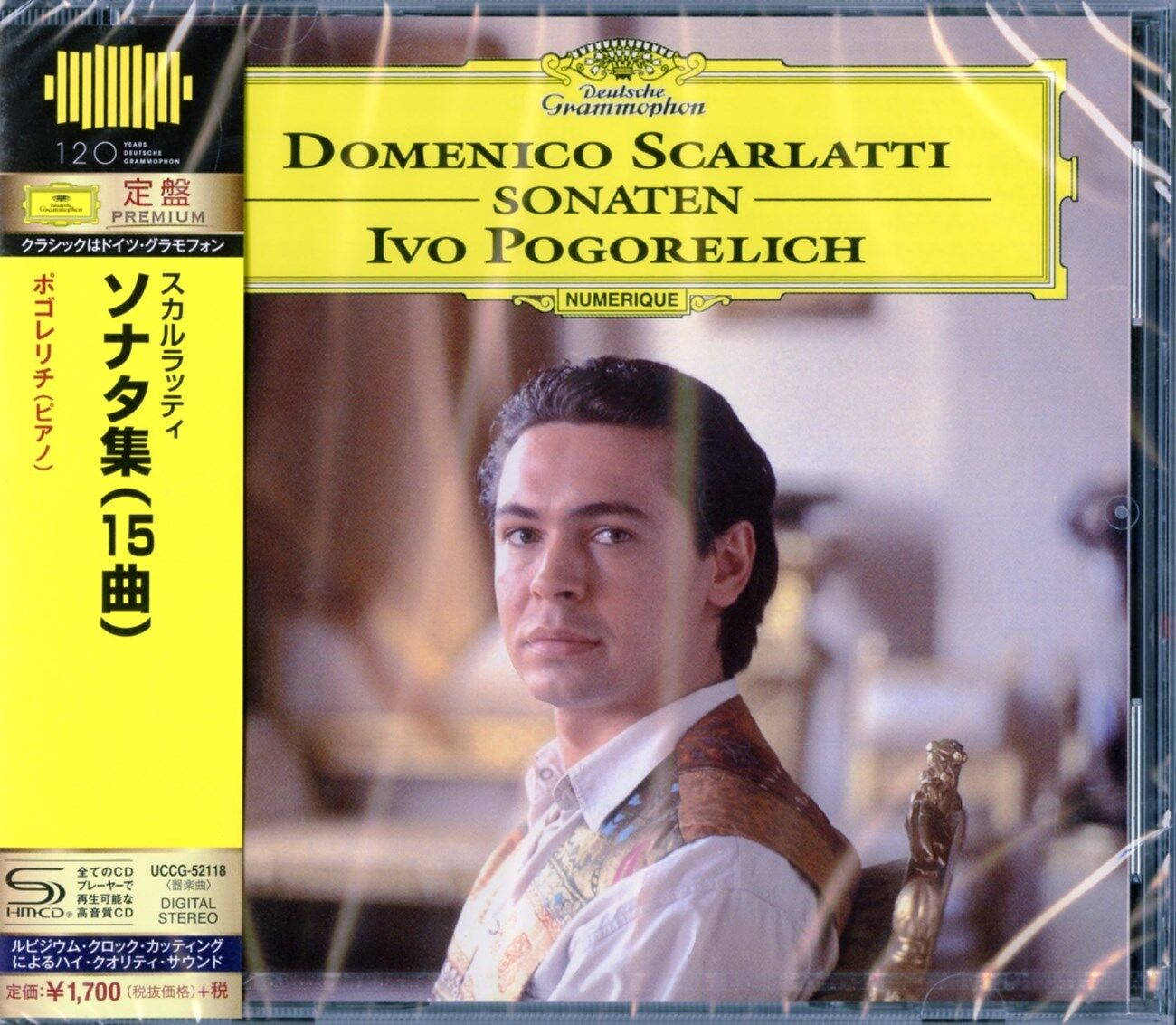 Ivo Pogorelich Scarlatti Sonatas Japan Shm Cd D46 For Sale Online Ebay