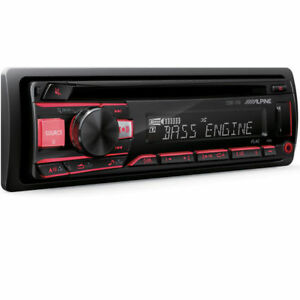 ALPINE CDE-170 CAR STEREO CD MP3 USB AUX EQUALIZER 200W PEAK AMPLIFIER RADIO NEW