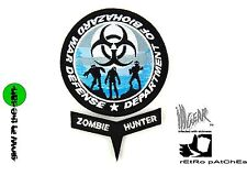 ill Gear eXtInCt Department of Biohazard War Defense Patch Blue/Black