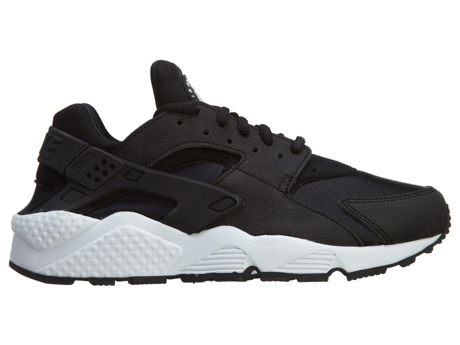 Nike Air Huarache Run Womens 634835-006 Black White Running Shoes Wmns Size 10