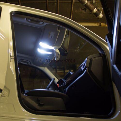 White 10Pcs Car LED Lights Interior Package Kit for Nissan Pathfinder 2005-2012