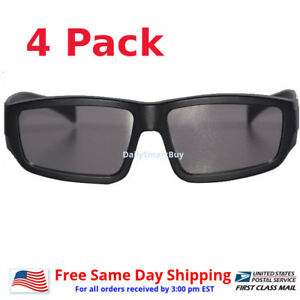 4-Pair-Passive-3D-Glass-with-Polarized-Plastic-Lenses-for-Vizio-LG-3D-glasses