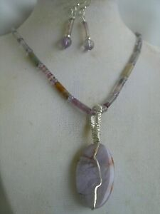 handcrafted-sterling-silver-fluorite-tubes-necklace-earrings-agate-pendant