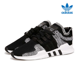 san francisco 3b1fe 492b8 Image is loading Adidas-EQT-Support-ADV-PK-BY9390-Black-White-
