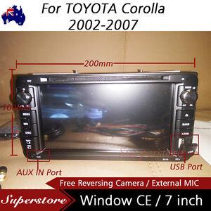 7-034-Car-DVD-GPS-Navi-Stereo-player-head-unit-usb-bt-For-TOYOTA-Corolla-2002-2007