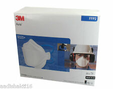 3M Aura 9320+ Mask Disposable Respirator FFP2 (10pcs Lot) *Made in U.K* 40% Off