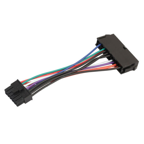 ATX 24 Pin Female to 12 Pin Male Converter Power Supply Cable Cord for Acer