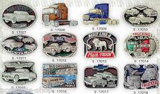 VENTA Años 50 US Car Camiones Vans Ford Hebilla Coche antiguo Hot Rod Hebilla