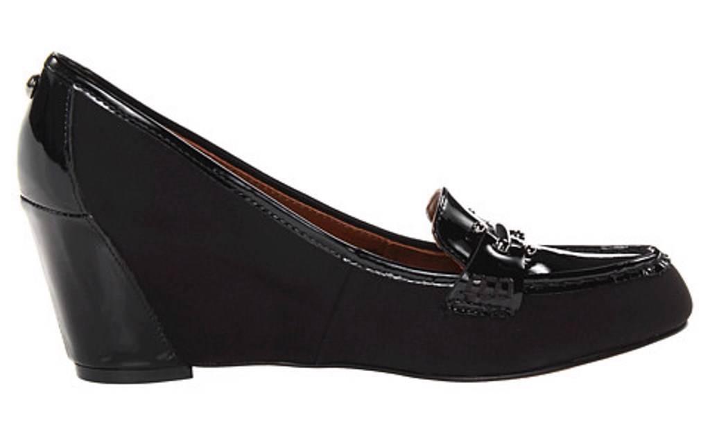 Damen Schuhe Pumpe Donald J Pliner Neny D26 Glatt Keil Pumpe Schuhe Schwarz Schmal Breite a3bba0