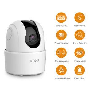 Imou 360° Cámara de Vigilancia WiFi 1080P Visión Nocturna Cámara de Mascota