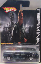 Hot Wheels CUSTOM CADILLAC HEARSE Damaged Version Terminator-3 Real Riders!
