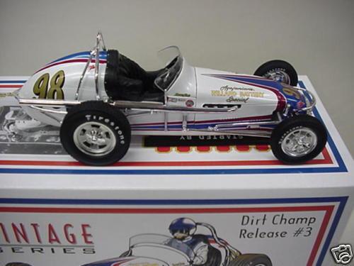 GMP PARNELLI JONES AGAJANIAN WILLARD VINTAGE DIRT CHAMP 1 18 DIECAST RACE CAR