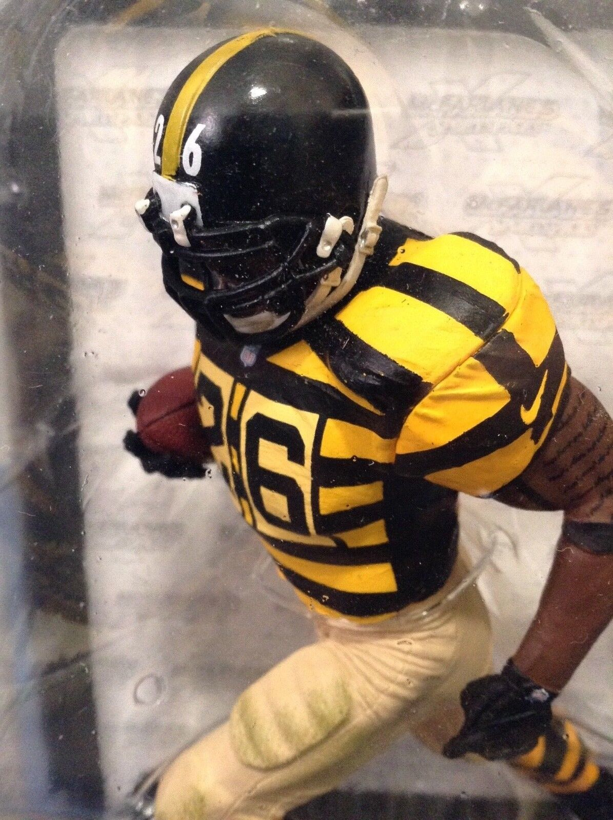 LOW  No.  - NFL PITTSBURGH STEELERS Le'VEON BELL     McFARLANES SERIES 35  consegna rapida