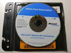 Microsoft Windows XP Professional SP1 (Action Pack) with ...