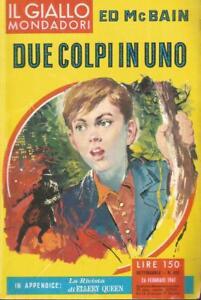 Il-giallo-630-Ed-McBain-Due-colpi-in-uno-1961-Mondadori