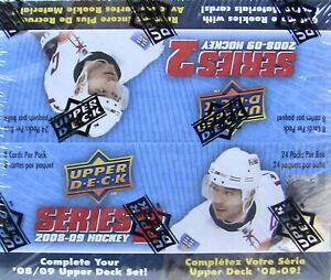 2008/09 Upper Deck Series 2 Hockey MASSIVE 24 Pack Sealed Retail Box 192 Cards