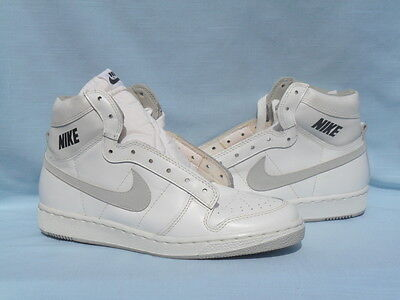 Vintage 1985 Nike Skylark Hi White/Natural Not Jordan OG DS Size 9