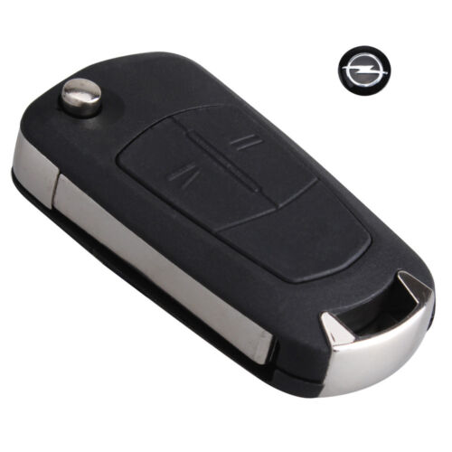 OPEL CORSA VECTRA ASTRA Genuine Hand Made Leather Key Case Cover KR0015